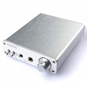 Topping A30 Desktop Headphone Amplifier - Silver