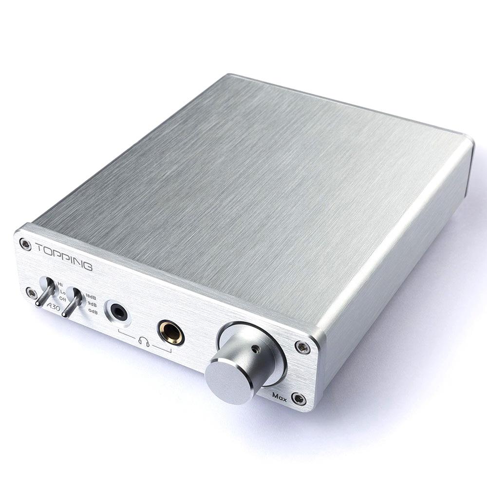 Topping A30 Desktop Headphone Amplifier Silver Merakit Dot Com Transmitters 1