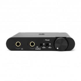 Topping NX4 DSD Portable USB DAC Headphone Amplifier - Black - 2