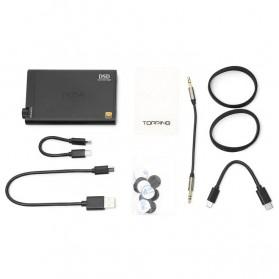 Topping NX4 DSD Portable USB DAC Headphone Amplifier - Black - 7