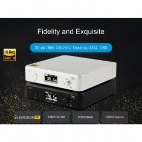 Topping HiFi DAC Audio Amplifier Decoder USB Desktop XMOS XU208 - D50 - Black - 5