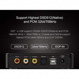 Topping HiFi DAC Audio Amplifier Decoder USB Desktop XMOS XU208 - D50 - Black - 6