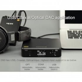 Topping HiFi DAC Audio Amplifier Decoder USB Desktop XMOS XU208 - D50 - Black - 7
