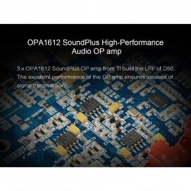 Topping HiFi DAC Audio Amplifier Decoder USB Desktop XMOS XU208 - D50 - Black - 9