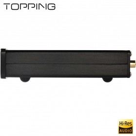TOPPING D10 USB DAC Desktop with Line Out Optical Coaxial Output - Black - 7