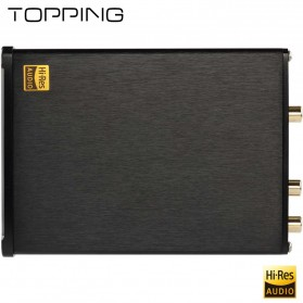 TOPPING D10 USB DAC Desktop with Line Out Optical Coaxial Output - Black - 8