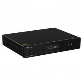 Topping D70 Digital DAC Decoding Amplifier XMOS DSD512 AK4497 - Black - 2