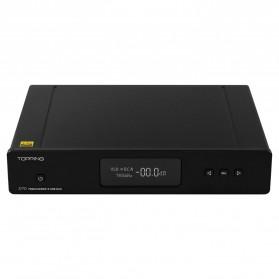 Topping D70 Digital DAC Decoding Amplifier XMOS DSD512 AK4497 - Black - 3