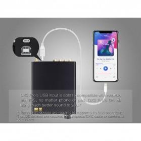Topping DX3 Pro HiFi Desktop DAC & Headphone Amplifier Bluetooth 5.0 - Black - 8