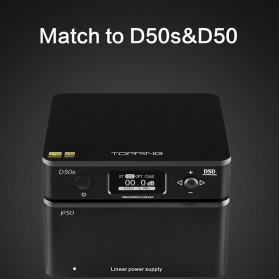 Topping P50 Linear Power Supply for D50 D50S A50 DX3Pro - Black - 2