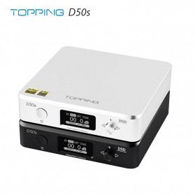 Topping D50s Pro HiFi Desktop DAC & Headphone Amplifier Bluetooth 5.0 - Black - 3