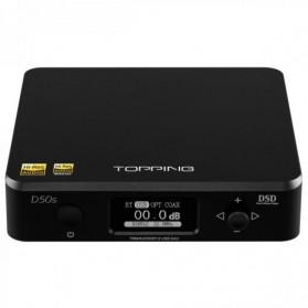 Topping D50s Pro HiFi Desktop DAC & Headphone Amplifier Bluetooth 5.0 - Black - 4