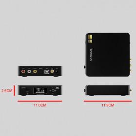 Topping D50s Pro HiFi Desktop DAC & Headphone Amplifier Bluetooth 5.0 - Black - 7