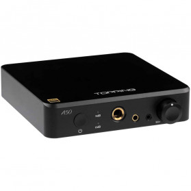 Topping A50-B Headphone Amplifier Desktop Hi-Res Balanced Output - Black