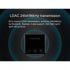 Topping BC3 Bluetooth 5.0 LDAC Receiver - Black - 2