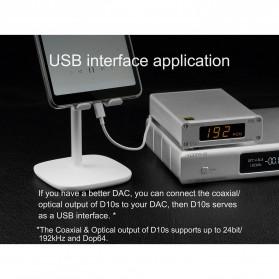 TOPPING D10s USB DAC Desktop Audio Amplifier Decoder - Black - 11