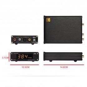 TOPPING D10s USB DAC Desktop Audio Amplifier Decoder - Black - 12