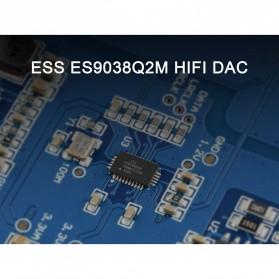 TOPPING D10s USB DAC Desktop Audio Amplifier Decoder - Black - 2