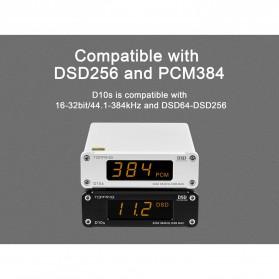 TOPPING D10s USB DAC Desktop Audio Amplifier Decoder - Black - 3