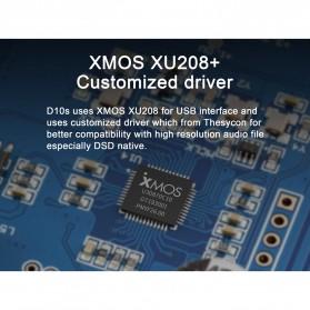 TOPPING D10s USB DAC Desktop Audio Amplifier Decoder - Black - 4