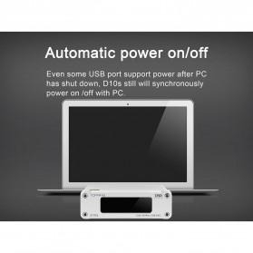 TOPPING D10s USB DAC Desktop Audio Amplifier Decoder - Black - 5