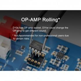 TOPPING D10s USB DAC Desktop Audio Amplifier Decoder - Black - 7