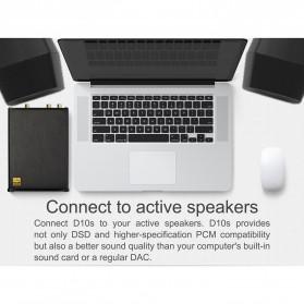 TOPPING D10s USB DAC Desktop Audio Amplifier Decoder - Black - 9