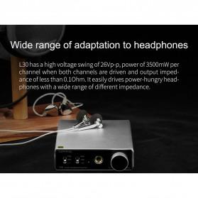 Topping L30 Headphone Amplifier Ultra Low Noise - Black - 3
