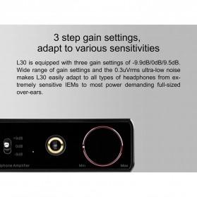 Topping L30 Headphone Amplifier Ultra Low Noise - Black - 4