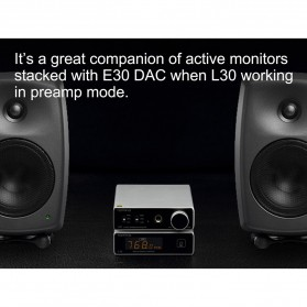 Topping L30 Headphone Amplifier Ultra Low Noise - Black - 7