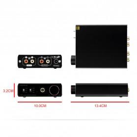 Topping L30 Headphone Amplifier Ultra Low Noise - Black - 9