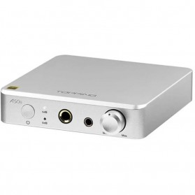 Topping A50s Headphone Amplifier Ultra Low Noise - Silver