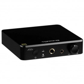 Topping A50s Headphone Amplifier Ultra Low Noise - Black