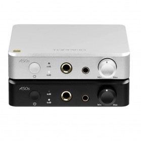 Topping A50s Headphone Amplifier Ultra Low Noise - Black - 2
