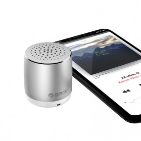 Orico Mini Portable Bluetooth Speaker - BS16 - Silver - 3