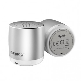 Orico Mini Portable Bluetooth Speaker - BS16 - Silver - 4