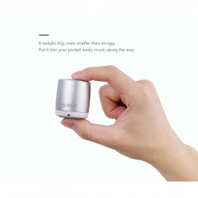 Orico Mini Portable Bluetooth Speaker - BS16 - Silver - 7