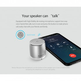 Orico Mini Portable Bluetooth Speaker - BS16 - Silver - 8