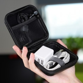 ORICO Tas Earphone Case Bentuk Kotak - PBS95 - Black - 2