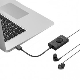 Orico Multifunction External USB Sound Card - SC2 - Black - 4