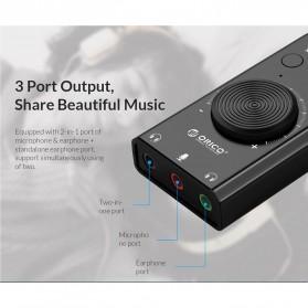 Orico Multifunction External USB Sound Card - SC2 - Black - 5