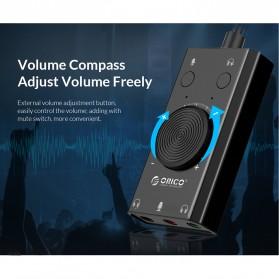 Orico Multifunction External USB Sound Card - SC2 - Black - 6