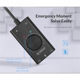 Orico Multifunction External USB Sound Card - SC2 - Black - 7