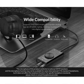 Orico Multifunction External USB Sound Card - SC2 - Black - 8