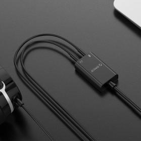 Orico External USB Sound Adapter Card - SKT2 - Black - 4