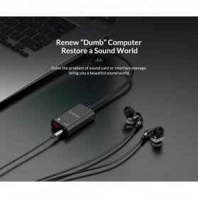 Orico External USB Sound Adapter Card - SKT2 - Black - 5