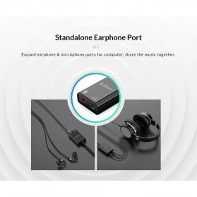 Orico External USB Sound Adapter Card - SKT2 - Black - 6