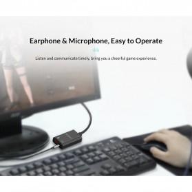 Orico External USB Sound Adapter Card - SKT2 - Black - 7