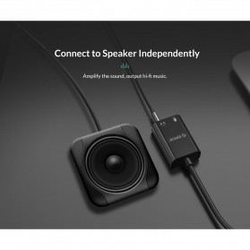 Orico External USB Sound Adapter Card - SKT2 - Black - 8