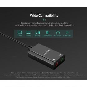 Orico External USB Sound Adapter Card - SKT2 - Black - 9